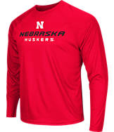Men's Stadium Nebraska Cornhuskers College Tread Long-Sleeve T-Shirt
