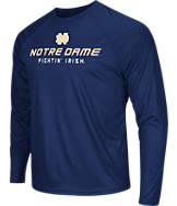 Men's Stadium Notre Dame Fighting Irish College Tread Long-Sleeve T-Shirt