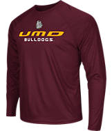 Men's Stadium Minnesota Duluth Bulldogs College Tread Long-Sleeve T-Shirt