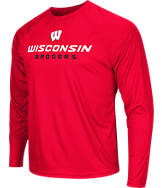 Men's Stadium Wisconsin Badgers College Tread Long-Sleeve T-Shirt