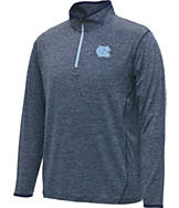 Men's Stadium North Carolina Tar Heels College Act Pass 1/4 Zip Shirt
