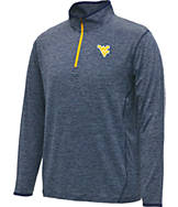 Men's Stadium West Virginia Mountaineers College Act Pass 1/4 Zip Shirt