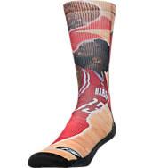 For Bare Feet Houston Rockets NBA Center Court Socks
