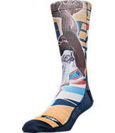 For Bare Feet Oklahoma City Thunder NBA Center Court Socks