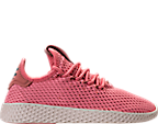 Girls' Grade School adidas Originals Pharrell Williams Tennis HU Casual Shoes