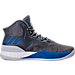 Right view of Men's adidas D Rose 8 Basketball Shoes in Grey/Blue
