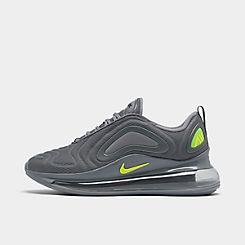 나이키 맨 Mens Nike Air Max 720 Running Shoes,Cool Grey/Volt/Electric Green/Black