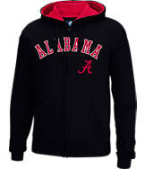 Men's J. America Alabama Crimson Tide College Cotton Full-Zip Hoodie