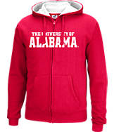 Men's J. America Alabama Crimson Tide College Full-Zip Hoodie