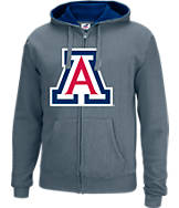 Men's J. America Arizona Wildcats College Full-Zip Hoodie