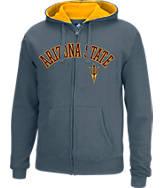Men's J. America Arizona State Sun Devils College Cotton Full-Zip Hoodie