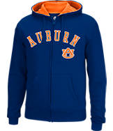 Men's J. America Auburn Tigers College Cotton Full-Zip Hoodie