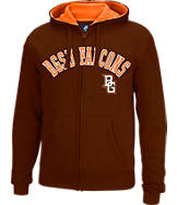 Men's J. America Bowling Green Falcons College Cotton Full-Zip Hoodie