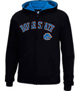 Men's J. America Boise State Broncos College Cotton Full-Zip Hoodie