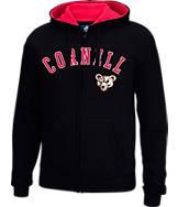 Men's J. America Cornell Big Red College Cotton Full-Zip Hoodie