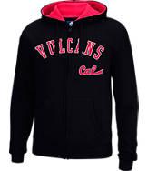 Men's J. America California University of Pennsylvania Vulcans College Cotton Full-Zip Hoodie