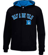 Men's J. America Duke Blue Devils College Cotton Full-Zip Hoodie
