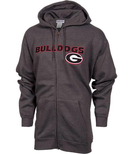 Men's VF Georgia Bulldogs College Cotton Full-Zip Hoodie