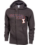 Men's VF Illinois Fighting Illini College Cotton Full-Zip Hoodie
