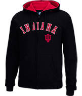 Men's J. America Indiana Hoosiers College Cotton Full-Zip Hoodie