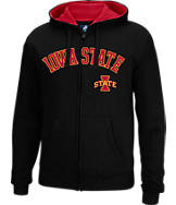 Men's J. America Iowa State Cyclones College Cotton Full-Zip Hoodie