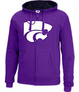 Men's J. America Kansas State Wildcats College Full-Zip Hoodie