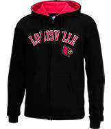 Men's J. America Louisville Cardinals College Full-Zip Hoodie