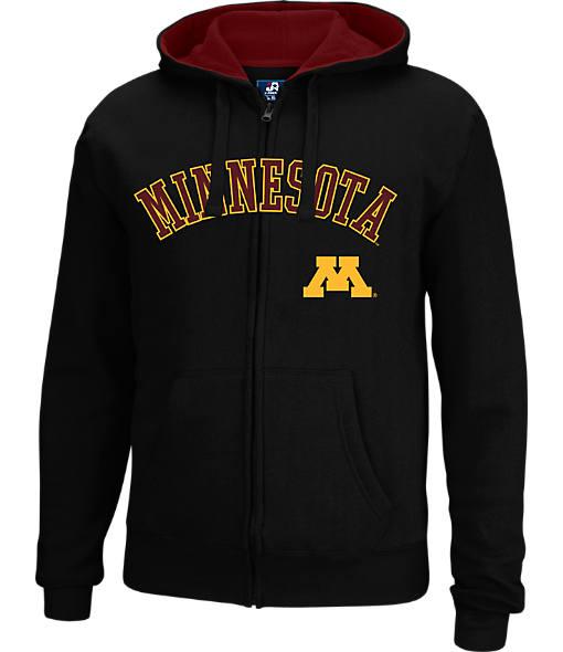 Men's J. America Minnesota Golden Gophers College Cotton Full-Zip Hoodie