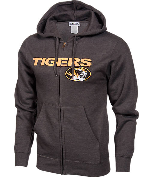 Men's VF Missouri Tigers College Cotton Full-Zip Hoodie