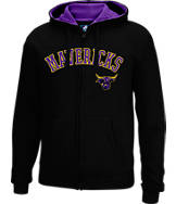 Men's J. America Minnesota State Mavericks College Cotton Full-Zip Hoodie