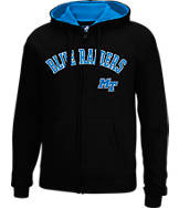 Men's J. America MTSU Blue Raiders College Full-Zip Hoodie