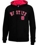 Men's J. America NC State Wolfpack College Cotton Full-Zip Hoodie