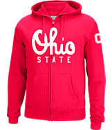 Men's J. America Ohio State Buckeyes College Full-Zip Hoodie