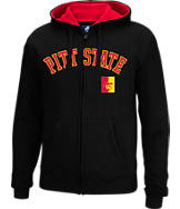 Men's J. America Pittsburg State Gorillas College Cotton Full-Zip Hoodie