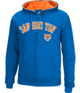 Men's J. America Sam Houston State Bearkats College Full-Zip Hoodie