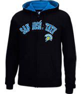 Men's J. America San Jose State Spartans College Cotton Full-Zip Hoodie