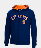 Men's J. America Syracuse Orange College Cotton Full-Zip Hoodie