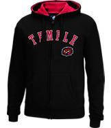 Men's J. America Temple Owls College Full-Zip Hoodie