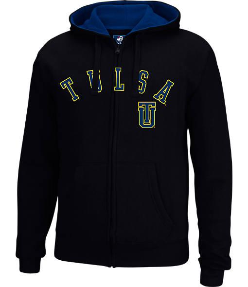 Men's J. America Tulsa Golden Hurricane College Cotton Full-Zip Hoodie