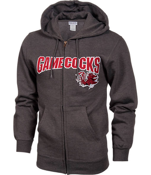 Men's VF South Carolina Gamecocks College Cotton Full-Zip Hoodie
