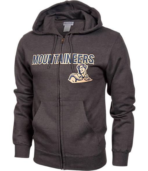 Men's VF West Virginia Mountaineers College Cotton Full-Zip Hoodie
