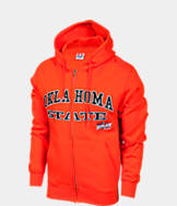 Men's Oklahoma State Cowboys College Cotton Full Zip Hoodie