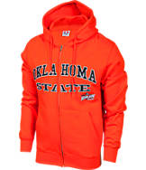 Men's Oklahoma State Cowboys College Cotton Full Zip Hoodie