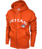 Men's Texas Longhorns College Cotton Full Zip Hoodie