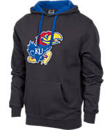 Men's Stadium Kansas Jayhawks College Cotton Pullover Hoodie