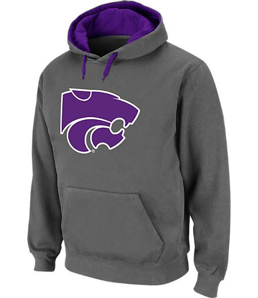 Men's Stadium Kansas State Wildcats College Cotton Pullover Hoodie