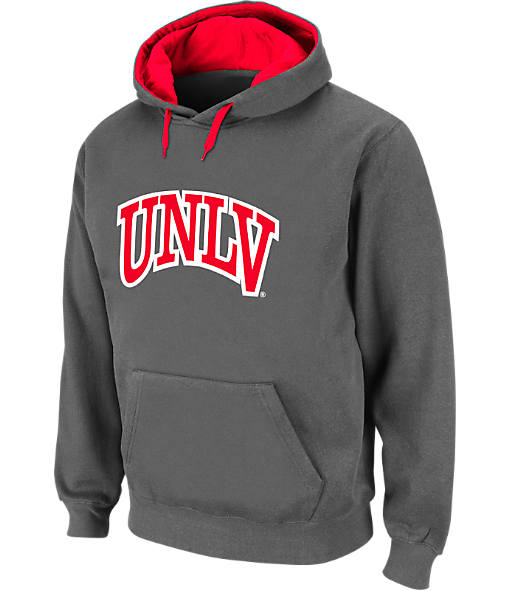 Men's Stadium UNLV Runnin' Rebels College Cotton Pullover Hoodie