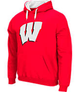 Men's Stadium Wisconsin Badgers College Cotton Pullover Hoodie
