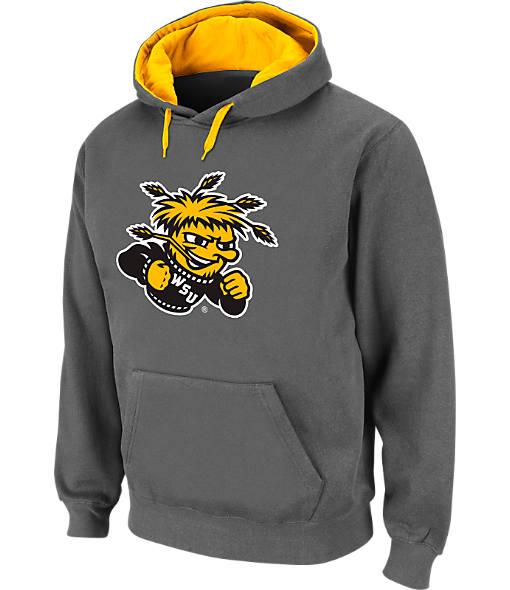 Men's Stadium Wichita State Shockers College Cotton Pullover Hoodie