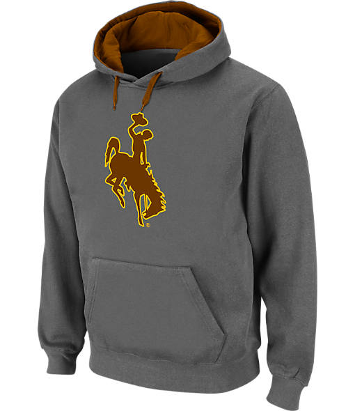 Men's Stadium Wyoming Cowboys College Cotton Pullover Hoodie